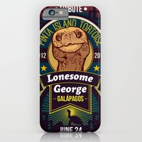 iPhone & iPod Case featuring Lonesome George by Carlos Hernandez