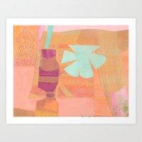 Peach Melba Art Print
