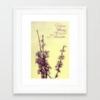 Praise the Young Framed Art Print