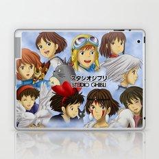 Studio Ghibli Girls Laptop & iPad Skin