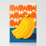 Fruit With Wallpaper (ba… Stationery Cards