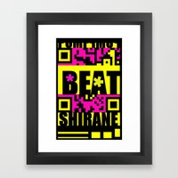 Beat Wins K U R - Shirane Framed Art Print