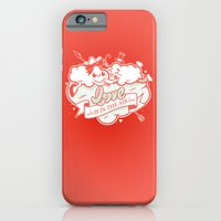 Love Is In The Air iPhone 6 Slim Case