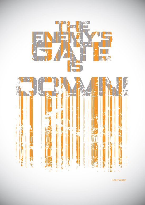 """""""The Enemy's Gate is Down!"""" Art Print"""