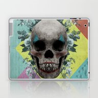 Laptop & iPad Skin featuring Skull Getting' Ready For… by Rosa Picnic