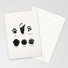 Animal Track Stationery Cards