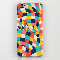 Curved Squares iPhone & iPod Skin