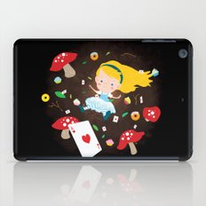 Alice Falling Down the Rabbit Hole iPad Case