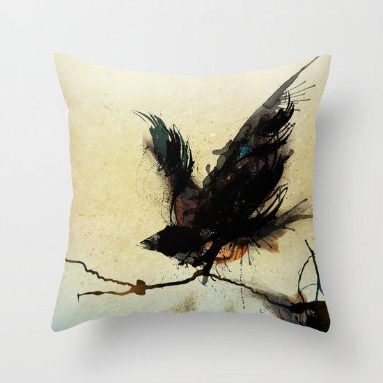 Sweet Bird Throw Pillow