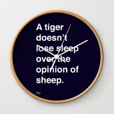 sheeple Wall Clock