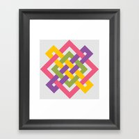 MKEKA Framed Art Print