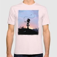 Wonder Kid Mens Fitted Tee Light Pink SMALL