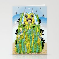 The Monster Of Skate For… Stationery Cards