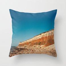 Sunny Hunny Cliffs Throw Pillow