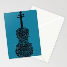 Analog zine - Fiddle Stationery Cards