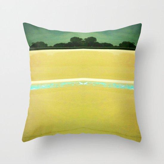 Beach to Paradise Throw Pillow