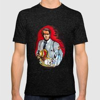 Kolchak : The Night Stalker  Mens Fitted Tee Tri-Black SMALL