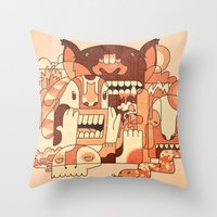 Dry Heat Throw Pillow