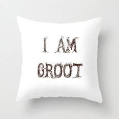 I AM GROOT Throw Pillow