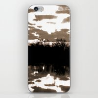 halloween sunrise iPhone & iPod Skin