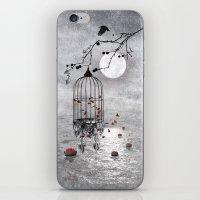 Le Vent Nous Portera ...… iPhone & iPod Skin