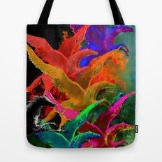 Galoppieren in der Farben Tote Bag