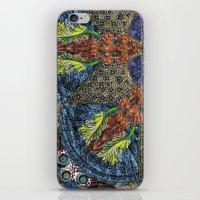Psychedelic Botanical 6 iPhone & iPod Skin