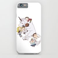 Teens And Wolves And Uni… iPhone 6 Slim Case