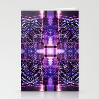 BURNING MAN MANDALA Stationery Cards
