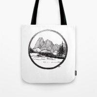 Enjoy the mountains Tote Bag