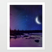 Night - From Day And Nig… Art Print