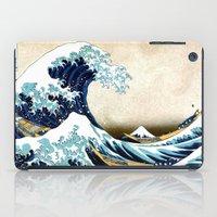 Kanagawa Oiled iPad Case
