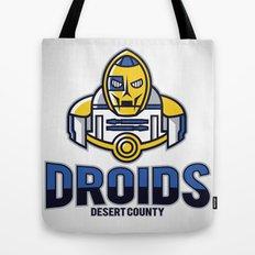 Desert County Droids Tote Bag