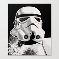 Galactic Empire Stormtro… Canvas Print