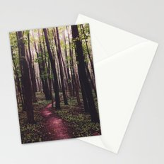 The Paths of Life Wander and Turn Stationery Cards
