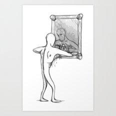 Sketchbooks Variant Series: EyEsEEmEE Art Print