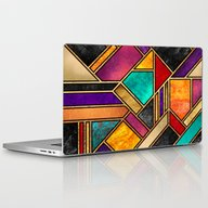 Colorful City Night Laptop & iPad Skin