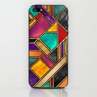 Colorful City Night iPhone & iPod Skin