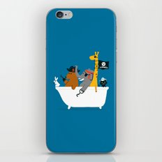 Everybody wants to be the pirate iPhone & iPod Skin