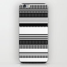 Graphic_Black&white iPhone & iPod Skin