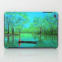 Lake reflection iPad Case