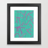 Abstract 129 Framed Art Print