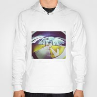 Empty Station-Abstract Hoody