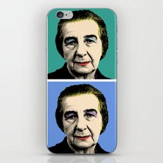 Golda Meir iPhone & iPod Skin