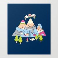 Cold Mountain Canvas Print
