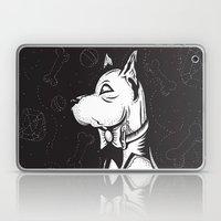 Family Portrait Dog Laptop & iPad Skin