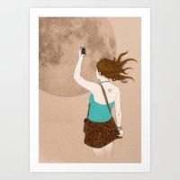 Instagramer Art Print