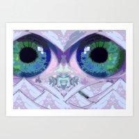 Mountain Eyes Art Print