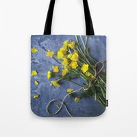 Buttercup Bouquet - Yellow  Tote Bag