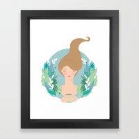 That first cuppa tea feeling Framed Art Print